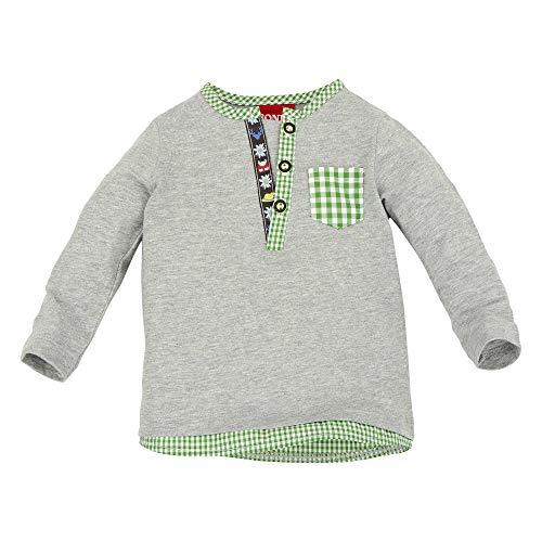 BONDI Jungen Trachten Sweatshirt mit Knopfleiste Artnr. 91063 Größe 80