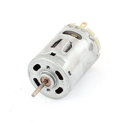 DealMux DC 12V 6000RPM Geschwindigkeit 2,2 mm Durchmesser Welle Magnetic Micro Motor 380 für Haarschneider
