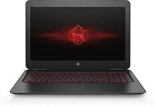 """HP Omen 15-ax003ns - Ordenador portátil de 15.6"""" FHD (Intel Core i7-6700HQ, RAM de 8 GB, HDD de 1 TB, Nvidia GeForce GTX 960M, Windows 10 Home) negro - Teclado QWERTY Español"""