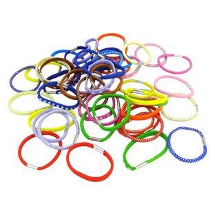Lot de 24 élastiques Colorés