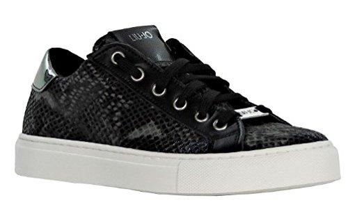 liu-jo-sneaker-damen-yum-stampa-rettile-scharz-36