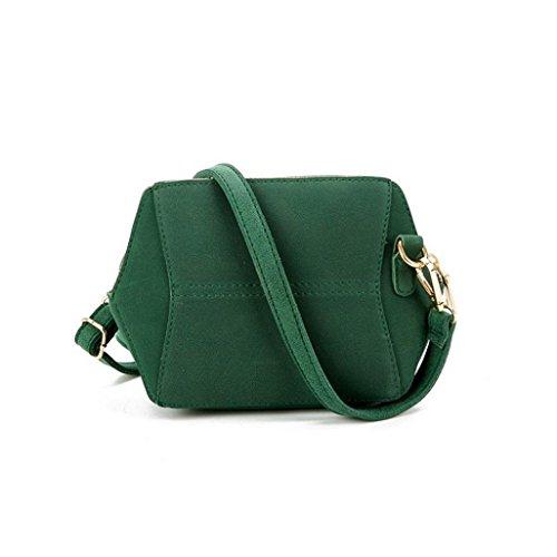 Koly_Pacchetto semplice spalla il retro piccolo quadrato pacchetto Verde