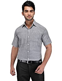khadi vastra Mens Formal Khadi Half Sleeve Shirts
