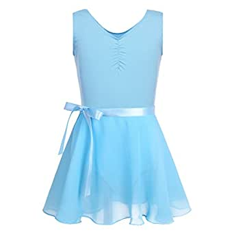 Image indisponible. Image non disponible pour la couleur   Agoky Enfant  Fille Robe Ballet Danse Classique ... 60bed7ff3f8