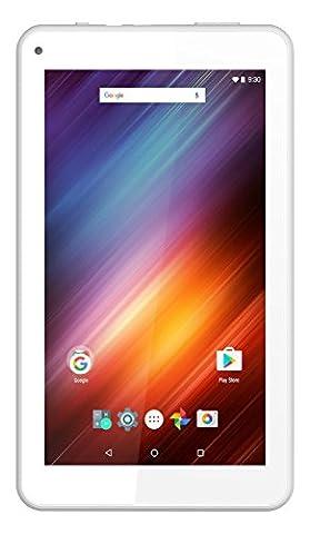 Logicom tablette tactile 7 pouces 8Go - 1Go RAM - Wifi - Quad core - Android 6 - blanc
