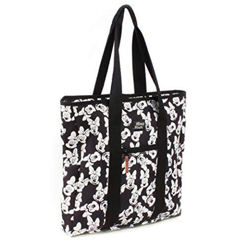 Micky Maus Minnie Tragetasche schwarz/weiß (Handtaschen Mickey Mouse)