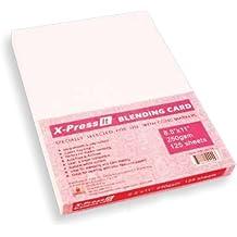 COPIC Marker x-press mischen Karte 21,6x 27,9cm 125/pkg-white, andere, mehrfarbig