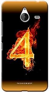 Fashionury Printed Back Case Cover For Microsoft Lumia 640XL-Print7998
