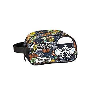 Star Wars Galaxy Oficial Mochila Escolar Infantil Mediano con Asa 260x120x150mm