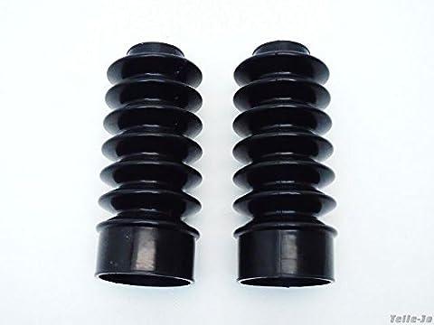 HARLEY Faltenbälge Gabel Faltenbalg XL Sportster Dyna FXR FX 883 XL 1200 VT 39 mm 62 mm 160 mm sehr hochwertig verarbeitet