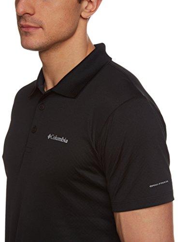 Columbia Herren Zero Rules Poloshirt Black