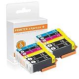 Printer-Express XXL 12er Set Tintenpatronen mit Chip ersetzt Canon PGI-550, CLI-551 Druckerpatronen für Canon Pixma IP-7250 MG-5450 MG-6350 MX-725 MX-925 Drucker