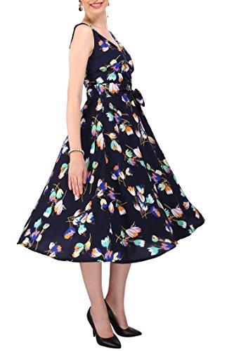 Kleid 40s 50s Swing Vintage Rockabilly Damen Retro Party Plus Größe ...