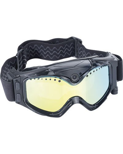 Masque de ski avec caméra HD intégrée [Somikon]