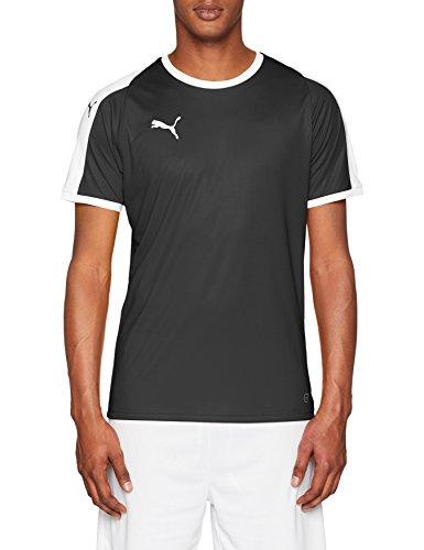 Erwachsenen-polo-shirt (PUMA Erwachsene Liga Jersey, schwarz(Puma Black / Puma White), XL)