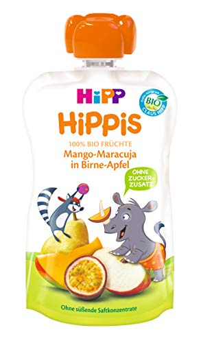 HiPP Mango-Maracuja in Birne-Apfel - Nick Nashorn, 100 g  - Bio