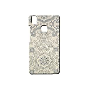 BLUEDIO Designer Printed Back case cover for VIVO V3 - G4087