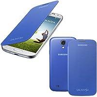 Samsung Flip-Cover EF-FI950BCEGWW für i9500/i9505 Galaxy S4 blau