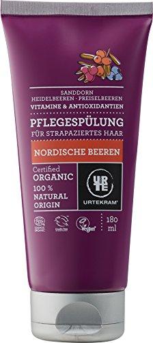 Urtekram Nordische Beeren Pflegespülung BIO, für strapaziertes Haar, 180 ml