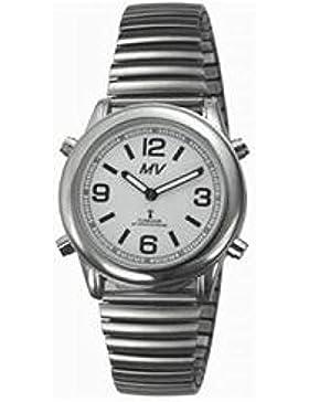 MV 1136V–Armbanduhr Unisex, Armband in Edelstahl