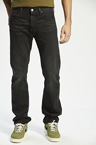 Levi's Herren Jeanshose 501 Original Straight Fit blapath black