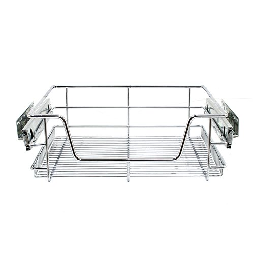 Kukoo Monster Chef 2 x Küche Pull Out Soft Close Körbe, 500 mm Breite Schränke, Slide Out Draht Schubladen (Pull-out-körbe)