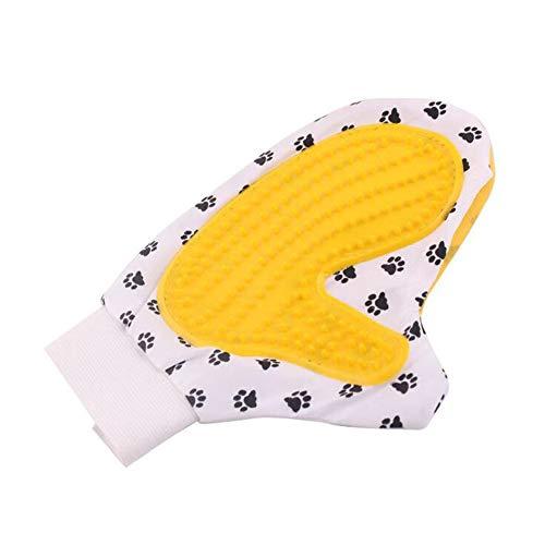 ZXL Guantes quitapelos y rodillos Masaje para Animales Extracción de Cabello Baño para Perros Guante Preparación Color al Azar Mini Cepillo de Limpieza para Mascotas Peine