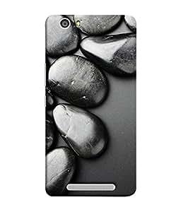 PrintVisa Stone Work 3D Hard Polycarbonate Designer Back Case Cover for Gionee Marathon M5 lite