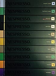 Nespresso Kapseln, verschiedene Sorte, 100 Stück, Kaffeekapseln