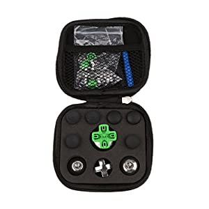 MagiDeal 31Stk./Set Ersatz Tasten D-Pad Bumper Thumbstick Kappen Knöpfe für PS4 Spielcontroller