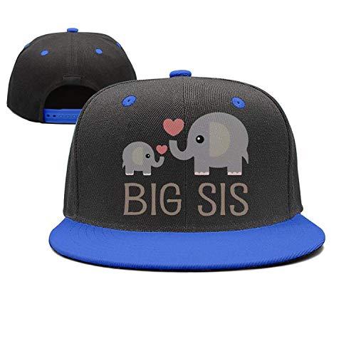 KKAIYA Girls Elephant Big Sister Mesh Trucker Baseball Cap Hat 4-13 Years
