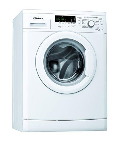 Bauknecht WAK 91 Waschmaschine Frontlader / 1400 UpM / 9 kg / weiß / Fertig in - Option / 15 Minuten Programm