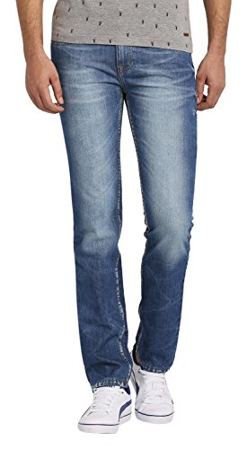 Abof Men's Slim Fit Jeans (ABOFS16AMCWJS102670130, Blue, 30)  available at amazon for Rs.447