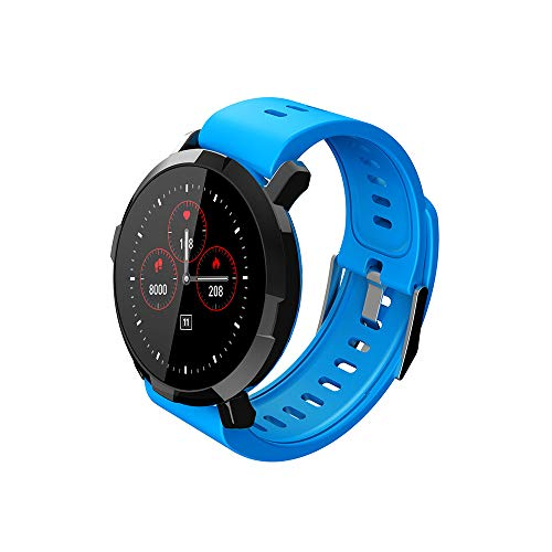 VRTUR Fitness-Smartwatch Herren Damen Smart Watch Fitness Tracker Sport Uhr Schrittzähler, Schlaf-Monitor, Stoppuhr, Blutdruck Herzfrequenz,verbrennt Kalorien