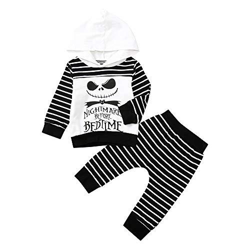 Halloween Kostüm Baby Streifen Outfits Kleidung mit