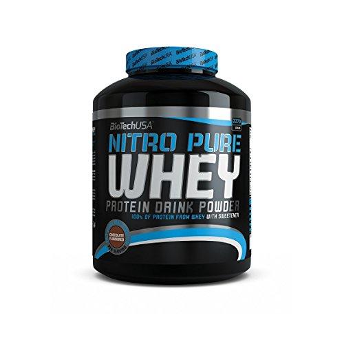 BiotechUSA Nitro Pure Whey Bourbon-Vaniglia 2270g
