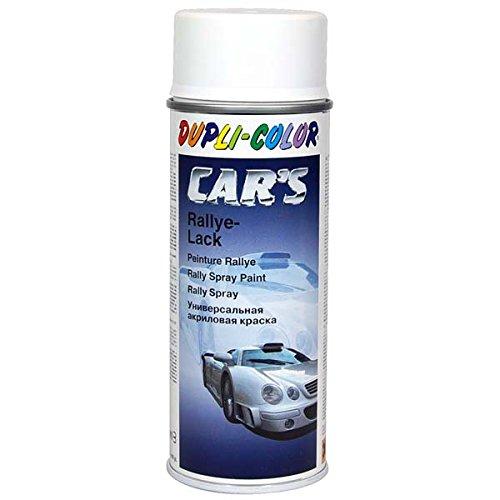 Dupli Color 652233 Cars Lackspray, 400 ml, Weiss Seidenmatt