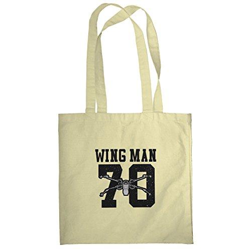 Texlab–Wing Man 70–sacchetto di stoffa Naturale
