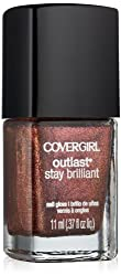 Covergirl Outlast Stay Brilliant Nail Gloss, Timeless Rubies 315, 0.37 Ounce by COVERGIRL