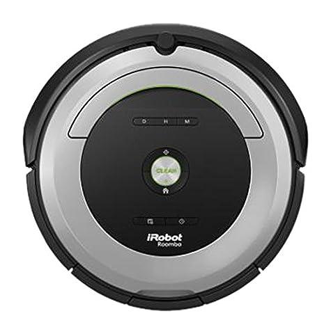 iRobot Roomba 680 Staubsaugroboter (hohe Reinigungsleistung, Reinigung nach Ihrem Zeitplan, geeignet bei Tierhaaren) grau