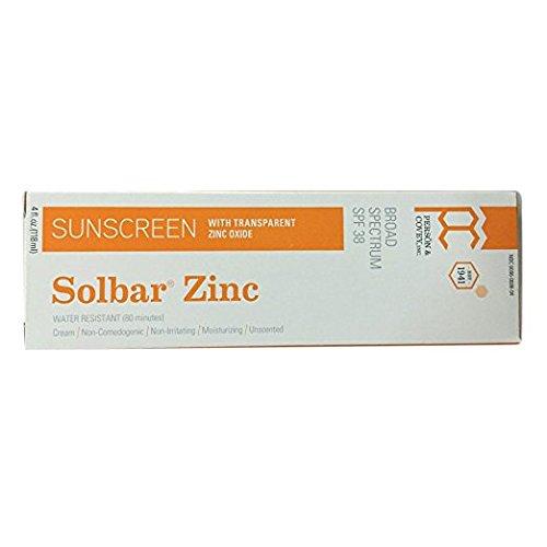 Solbar - Zinc Sun Protection Avec Crème Spf 38 - 4 Oz