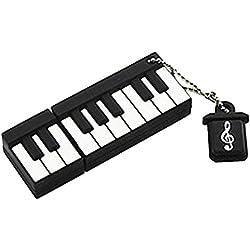 Superideal Linda Piano USB de 8 GB de memoria Flash del palillo Instrumento Musical 2.0 Drive