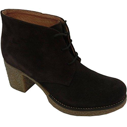 Scarpe donna Marechiaro AL17 - Sneakers Polo 2 Camoscio (39, testa di moro)