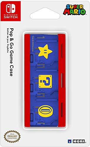 HORI - Estuche juegos Pop & Go Mario Nintendo Switch
