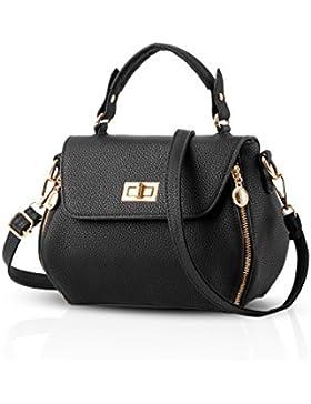 NICOLE&DORIS Mode Frauen Handtaschen Crossbody Umhängetasche Purse PU