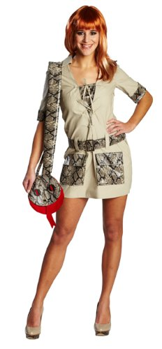 Expedition Kleid zu Karneval Fasching Gr.38 (Safari Damen Kostüm)