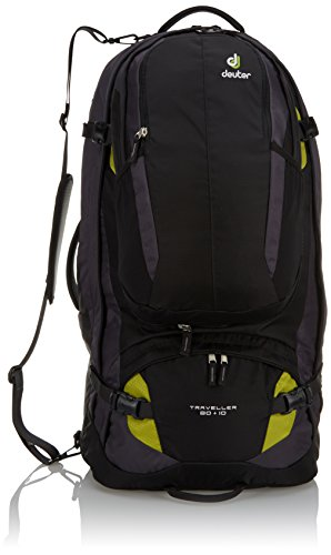 Deuter - Zaino da trekking Traveller da uomo, 79 x 38 x 32 cm, 90 litri