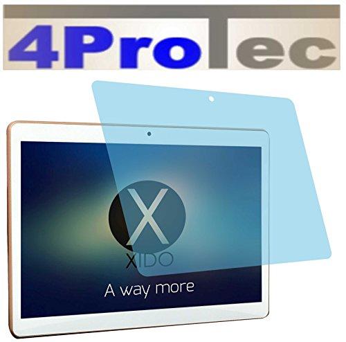 4ProTec 2 Stück GEHÄRTETE ANTIREFLEX Displayschutzfolie für Xido Z90 Bildschirmschutzfolie