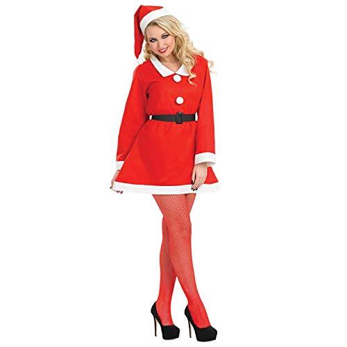 Fun Shack FN3800M Kostüm, Women, Santa Sweetie, M (Santa Sweetie Kostüm)