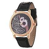 Uhren eckige armband strass ausgefallene wasserdichte modern funkuhr edle preiswerte handuhr digitale solaruhr Schwarz